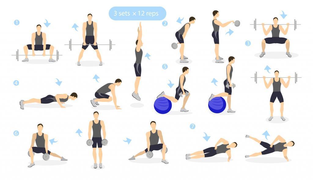 Rutina de ejercicios de piernas salter challenge