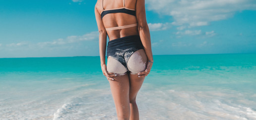 tabla de ejercicios de glúteos para lucir bikini