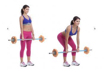 Peso muerto es un ejercicio para glúteos